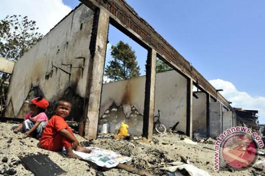 Kebakaran ludeskan 10 rumah di Palangka Raya