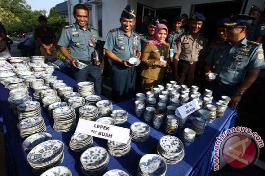 KKP selamatkan barang muatan kapal tenggelam di Bangka Belitung