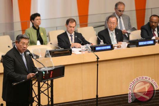 Presiden SBY sampaikan empat kebijakan Indonesia lindungi hutan