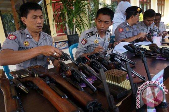 Polres Badung siaga saat pelantikan presiden