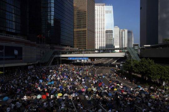 Pemerintah Hong Kong batalkan pembicaraan dengan mahasiswa