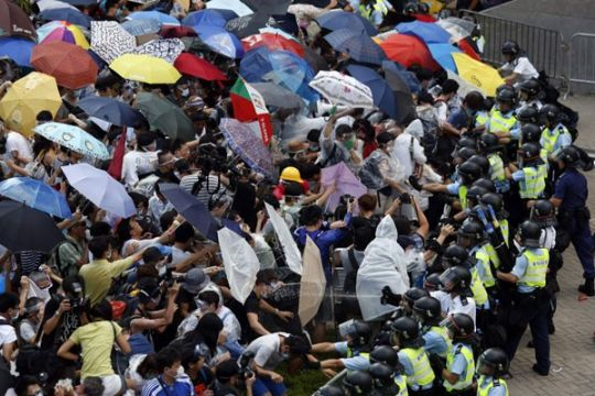 Amerika minta kebrutalan polisi Hong Kong serius diselidiki