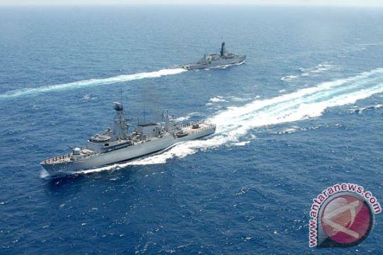 14 kapal perang TNI AL juga antisipasi Laut China Selatan