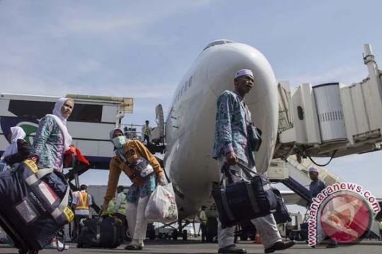 20 persen jamaah haji sudah kembali ke Tanah Air
