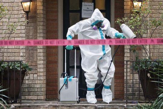 AS kedatangan lagi pasien Ebola yang lebih parah