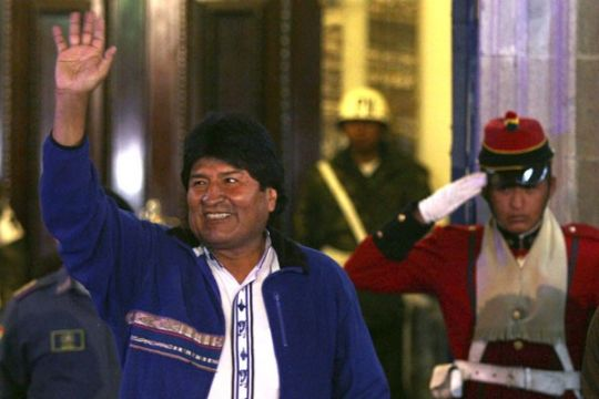 Evo Morales hattrik menangi Pilpres Bolivia