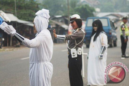 Kasus kecelakaan lalu lintas  di Padang meningkat pada 2018