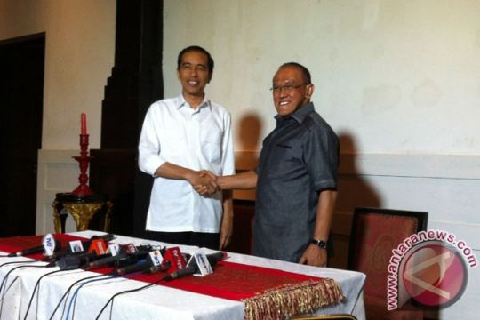 Demi ARB, Jokowi terpaksa minum kopi