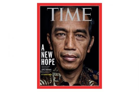 "Jokowi ""A New Hope"" di sampul majalah TIME"