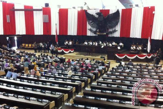 Polri siagakan kendaraan taktis di gedung parlemen