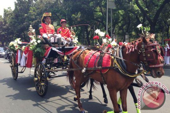 Kereta kuda sudah menunggu Jokowi-JK