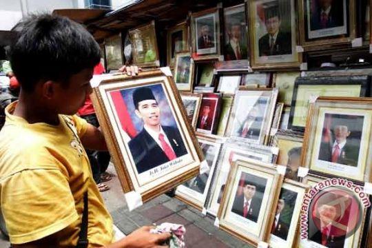 Foto resmi Presiden Jokowi mulai beredar di pasaran