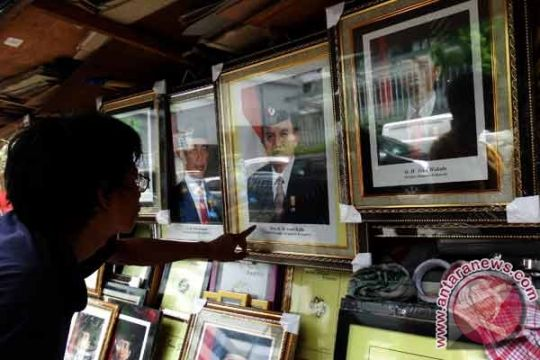 Foto resmi presiden dan wakil presiden ditunggu