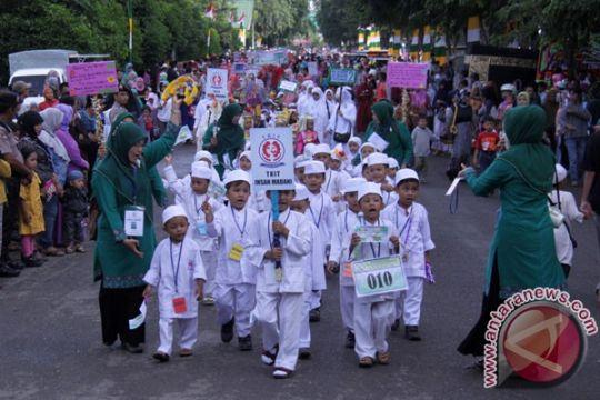 Ribuan siswa Pangkalpinang pawai taaruf peringati 1 Muharam
