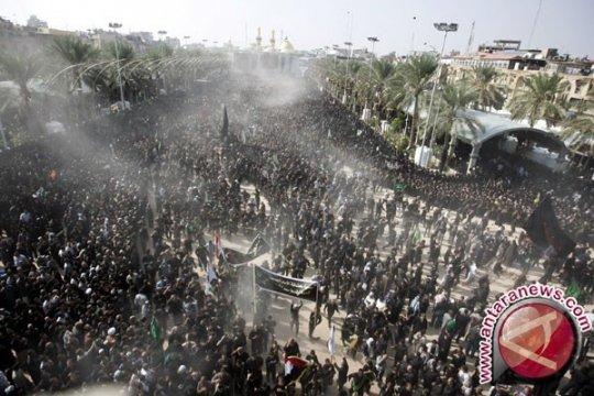 Belasan orang meninggal dalam ritual Asyura di Karbala Irak
