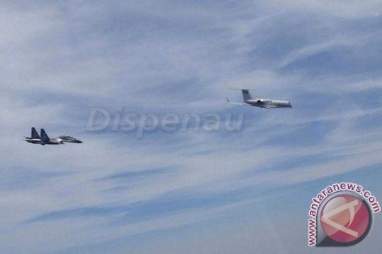 TNI AU usir pesawat asing di Kepulauan Natuna