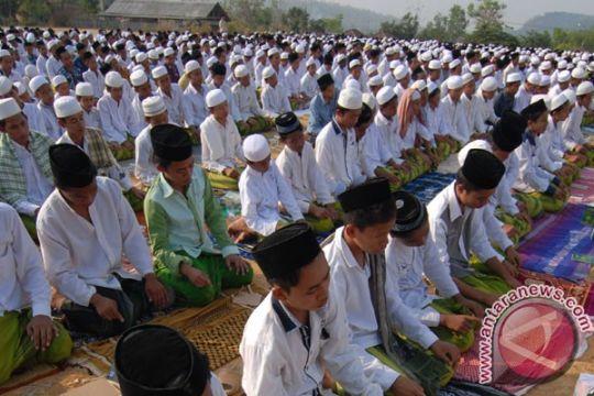 Ratusan warga Bogor salat Istisqo untuk meminta hujan