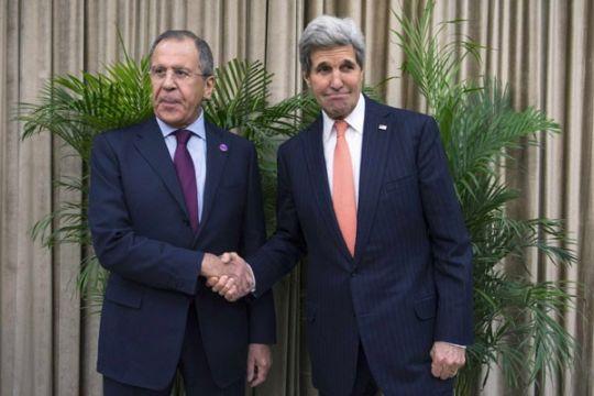 Menlu Rusia dan AS bahas krisis Ukraina