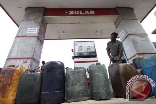 Polresta Bogor bongkar penimbunan BBM bersubsidi