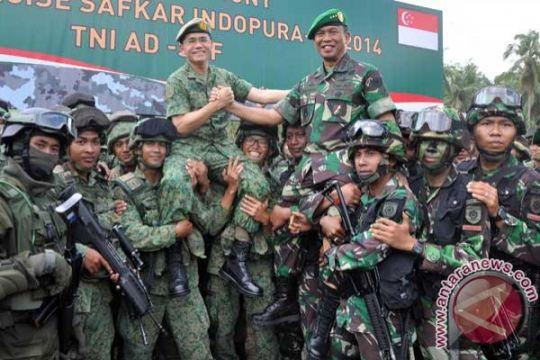 TNI AD Indonesia - Singapura gelar latihan bersama