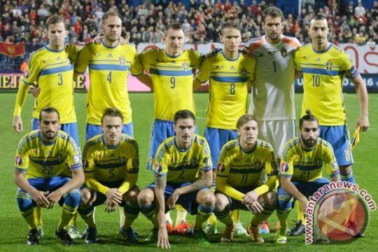 Swedia rahasiakan latihan jelang lawan Irlandia