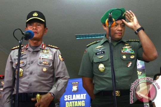 Polri-TNI cari sarana pemersatu kedua institusi