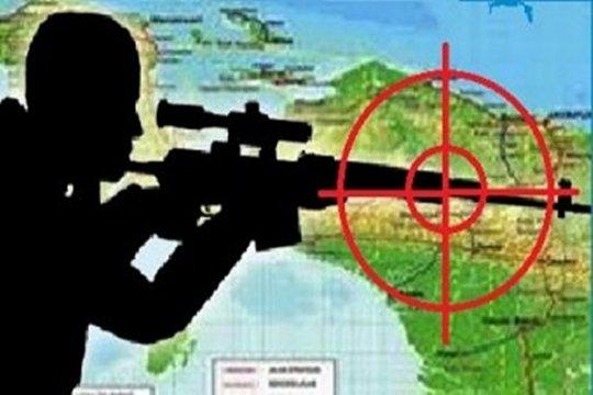 Flash...Baku tembak TNI - KKB di Sugapa, seorang prajurit meninggal
