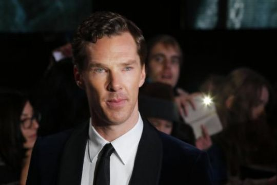 Benedict Cumberbatch selamatkan kurir sepeda yang dikeroyok