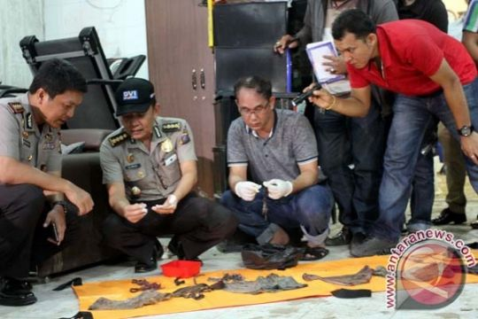 Polisi teliti temuan tulang manusia di rumah penganiaya TKW