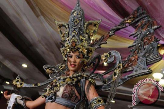 Kostum Borobudur Puteri Indonesia sarana promosi pariwisata