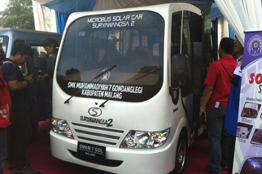 SMK Muhammadiyah luncurkan dua mobil tenaga surya
