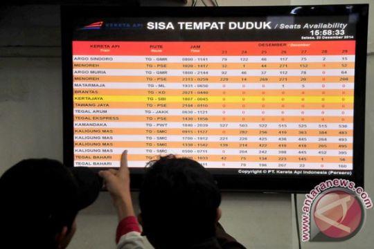 Tiket KA dari Malang habis terjual
