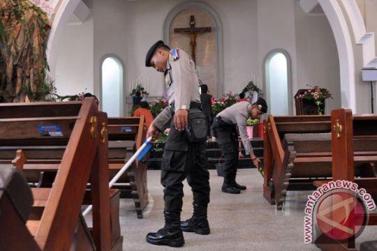 Semua gereja di Lampung akan dijaga polisi