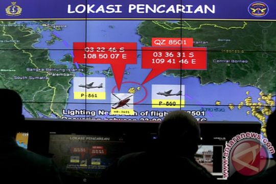 Pencarian AirAsia di Pontianak saat cuaca buruk