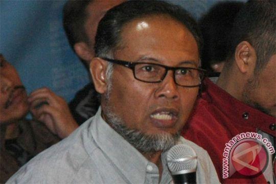 Pegiat antikorupsi sampaikan pernyataan resmi di gedung KPK