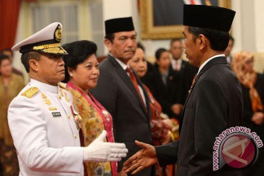 Presiden lantik Kepala Staf Angkatan Laut