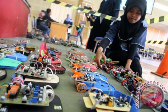 Kontes Robot Indonesia diikuti 91 tim