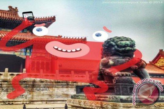 PEMUNCULAN PERDANA Monsters of New York di Beijing -- Pariwisata Beijing mengikuti tren seni global dalam media sosial