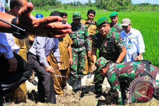 Pangdam: semua TNI terlibat sukseskan ketahanan pangan