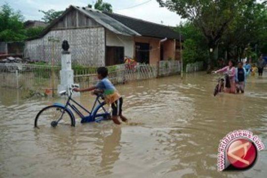 Banjir kiriman Malaysia tenggelamkan sebagian wilayah Nunukan