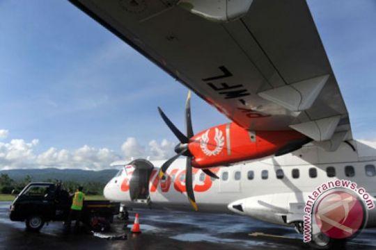 ATR-72 Wings Air terbang perdana di Bandara Mukomuko