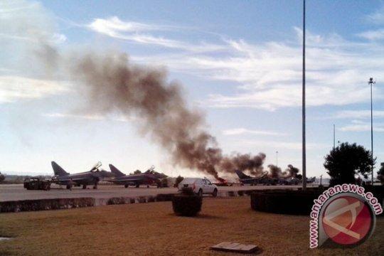 F-16 jatuh di Spanyol tewaskan 10 orang
