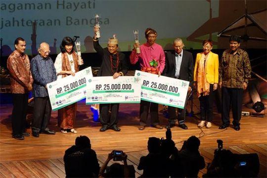 Enam pahlawan lingkungan raih Kehati Award