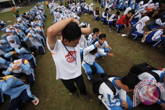 ACT Yogyakarta ajak santri mengenal karakter bencana