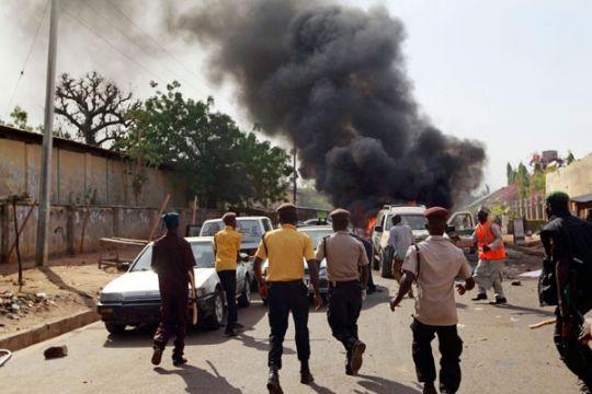 Pembom bunuh diri di Nigeria tewaskan 14 orang