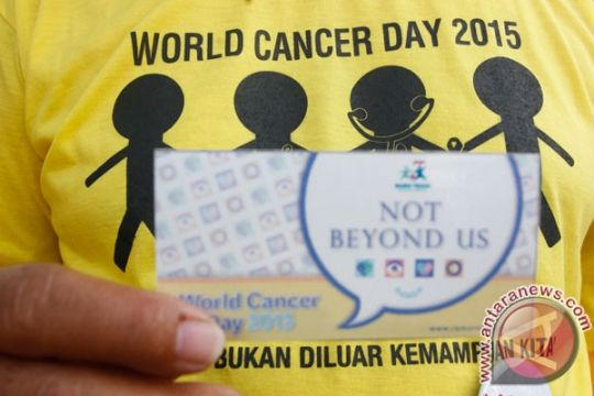 Kanker duduki peringkat ketujuh penyebab kematian di Indonesia