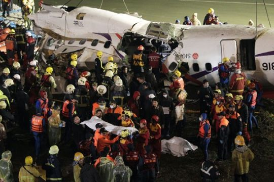 Maskapai Taiwan TransAsia ditutup setelah kecelakaan tragis