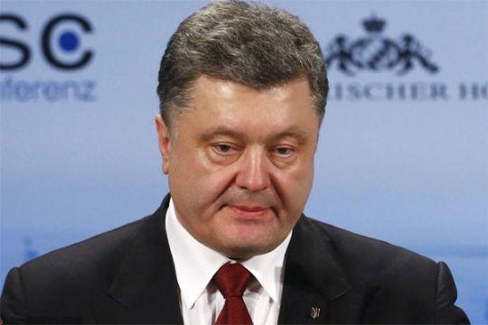 Presiden Ukraina perintahkan pasukan pemerintah hentikan tembakan