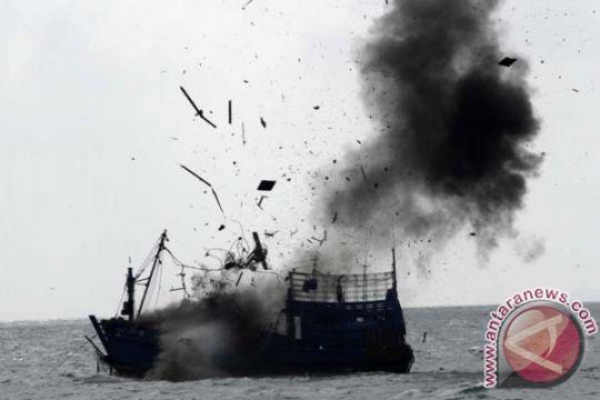 4 kapal pencuri ikan berbendera Malaysia siap dihancurkan