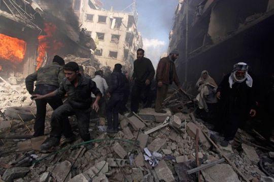 10 warga sipil tewas dalam pemboman koalisi-AS di Kamp Al-Baghouz